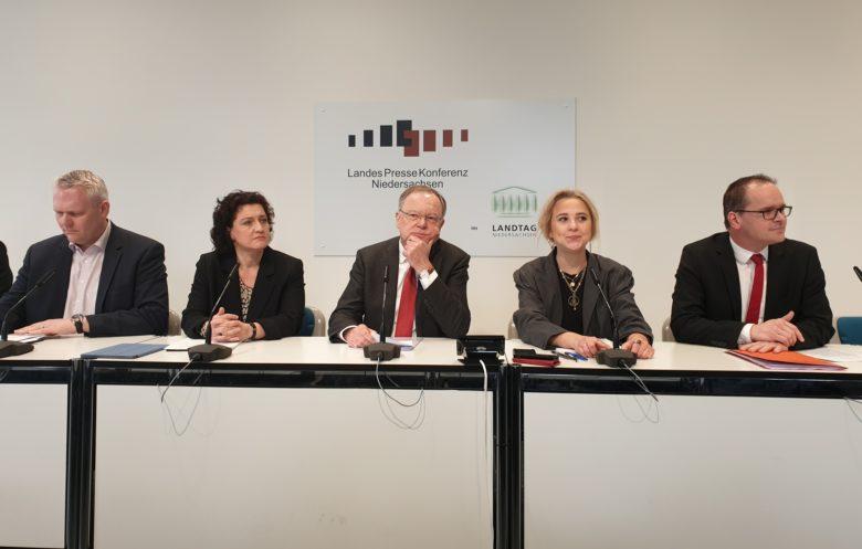 Pressekonferenz Weil Heute
