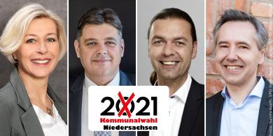 Das sind die Gewinner und Verlierer der Landratswahlen in Niedersachsen