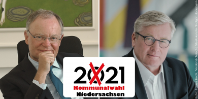 Landestrend zur Kommunalwahl: CDU behauptet Spitzenposition trotz Verlusten