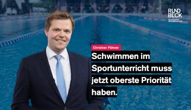 JU-Chef: Kinder sollen Schwimmunterricht schnell nachholen