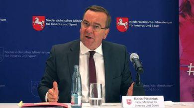 Pistorius: Fremde Geheimdienste wollen Wahlen stören