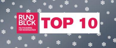 Rundblick-Top 10 zum Jahreswechsel