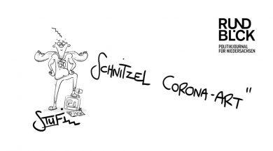 Stufi: Schnitzel Corona-Art