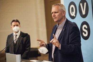 Wissenschaftsminister im Quantum Valley Lower Saxony