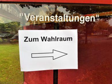 In Niedersachsen zeichnet sich hohe Wahlbeteiligung ab